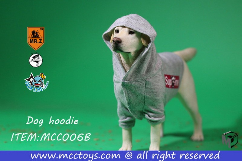 MR.Z X MCCToys MCC006B DOG HOODIE 狗帽T(GRAY 灰色)-01