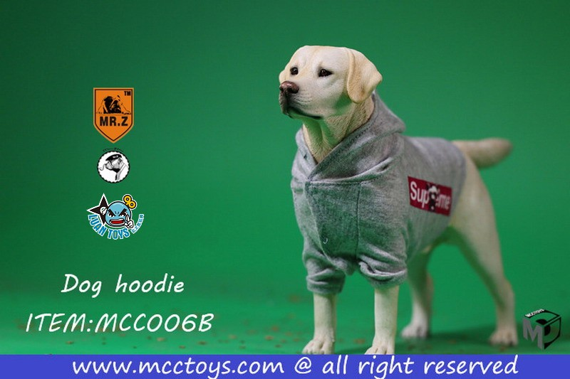 MR.Z X MCCToys MCC006B DOG HOODIE 狗帽T(GRAY 灰色)-02
