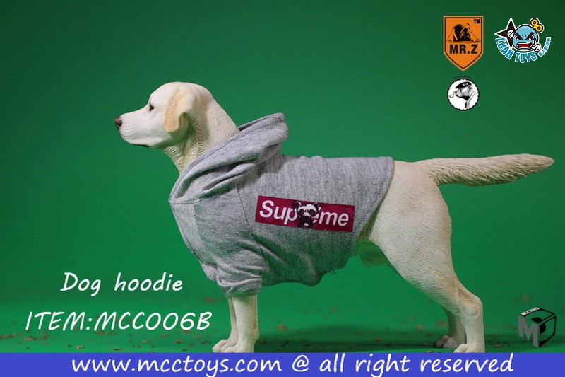MR.Z X MCCToys MCC006B DOG HOODIE 狗帽T(GRAY 灰色)-03