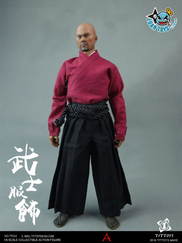 TITTOYS TT010 COSTUMES OF THE JAPANESE WARRING STATES WARRIORS 日本戰國武士服裝配件組(A款)-02