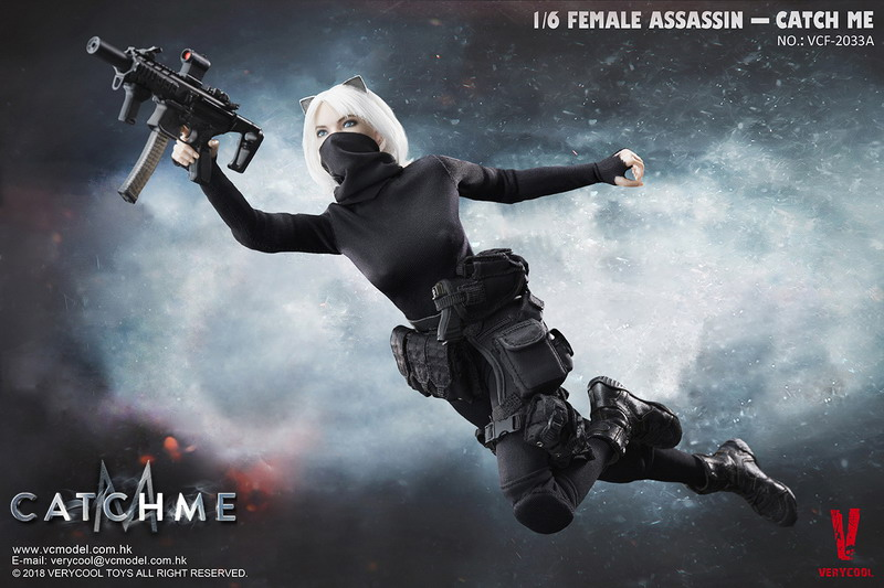 VERYCOOL VCF-2033A FEMALE ASSASSINSERIES 女刺客系列 - CATCH ME-06