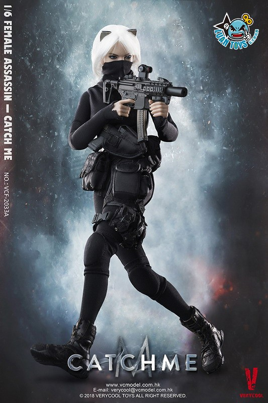 VERYCOOL VCF-2033A FEMALE ASSASSINSERIES 女刺客系列 - CATCH ME-07