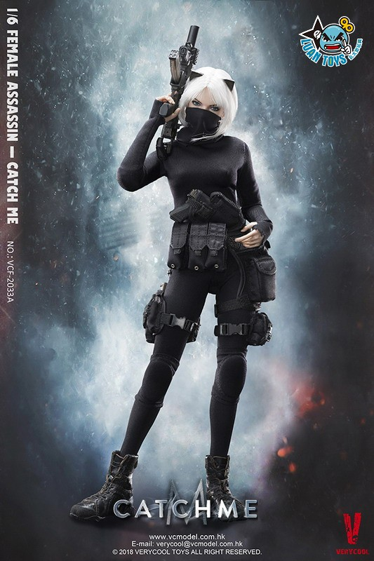 VERYCOOL VCF-2033A FEMALE ASSASSINSERIES 女刺客系列 - CATCH ME-09