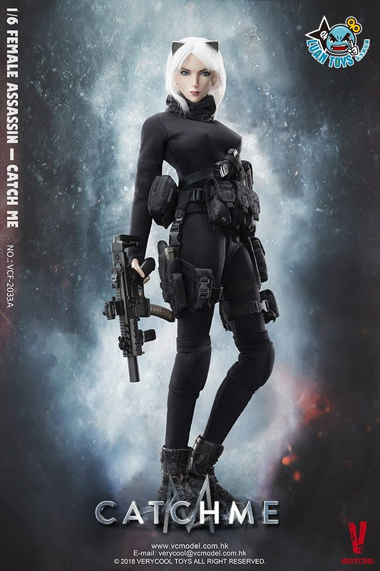 VERYCOOL VCF-2033A FEMALE ASSASSINSERIES 女刺客系列 - CATCH ME-14