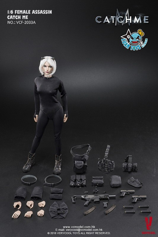 VERYCOOL VCF-2033A FEMALE ASSASSINSERIES 女刺客系列 - CATCH ME-17