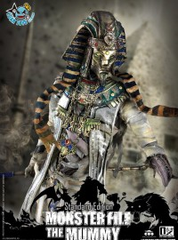 COOMODEL X 偶之相 MF008 MONSTER FILE SERIES 怪物檔案系列 – THE MUMMY 木乃伊-02