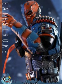 HOT TOYS DC BATMAN ARKHAM KNIGHT 蝙蝠俠 阿卡漢騎士 - DEATHSTROKE 喪鐘-14