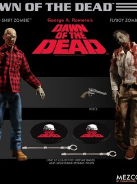 MEZCO TOYZ DAWN OF THE DEAD 活人生吃 - ZOMBIE SET 喪屍雙人組-01