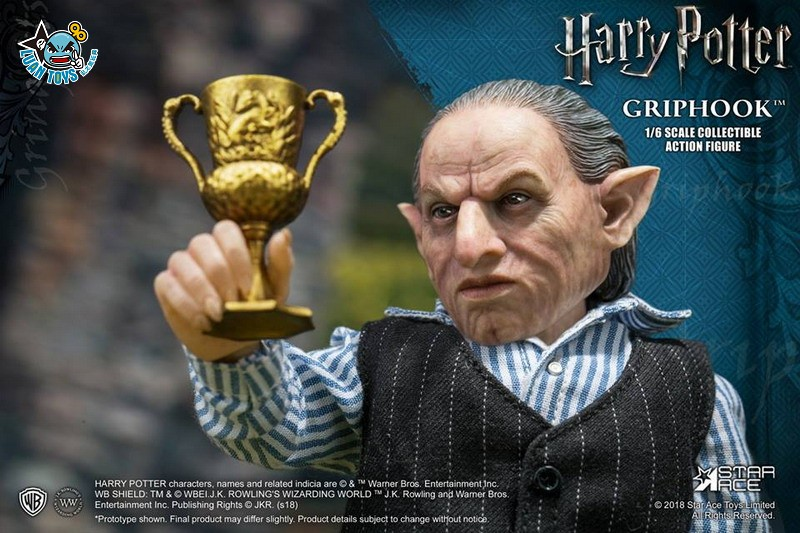 STAR ACE SA0058 HARRY POTTER AND THE  DEATHLY HALLOWS 哈利波特 死神的聖物 – GRIPHOOK 拉環-01