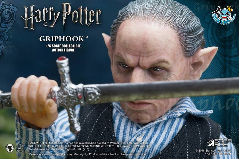STAR ACE SA0058 HARRY POTTER AND THE  DEATHLY HALLOWS 哈利波特 死神的聖物 – GRIPHOOK 拉環-02