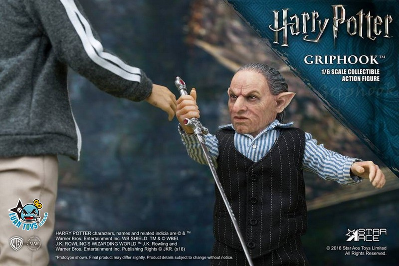 STAR ACE SA0058 HARRY POTTER AND THE  DEATHLY HALLOWS 哈利波特 死神的聖物 – GRIPHOOK 拉環-03