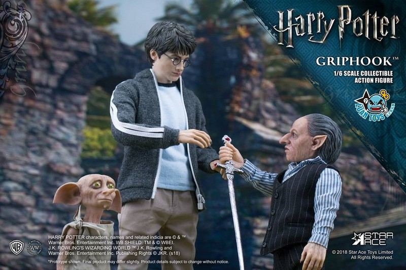 STAR ACE SA0058 HARRY POTTER AND THE  DEATHLY HALLOWS 哈利波特 死神的聖物 – GRIPHOOK 拉環-04