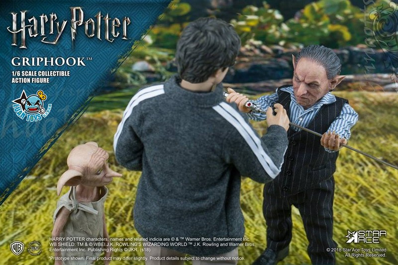 STAR ACE SA0058 HARRY POTTER AND THE  DEATHLY HALLOWS 哈利波特 死神的聖物 – GRIPHOOK 拉環-05