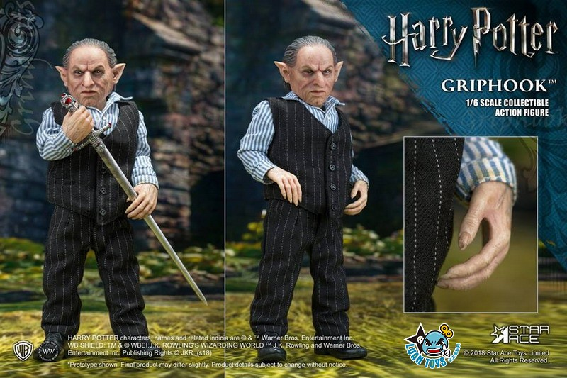 STAR ACE SA0058 HARRY POTTER AND THE  DEATHLY HALLOWS 哈利波特 死神的聖物 – GRIPHOOK 拉環-06