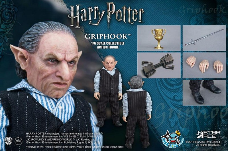 STAR ACE SA0058 HARRY POTTER AND THE  DEATHLY HALLOWS 哈利波特 死神的聖物 – GRIPHOOK 拉環-07