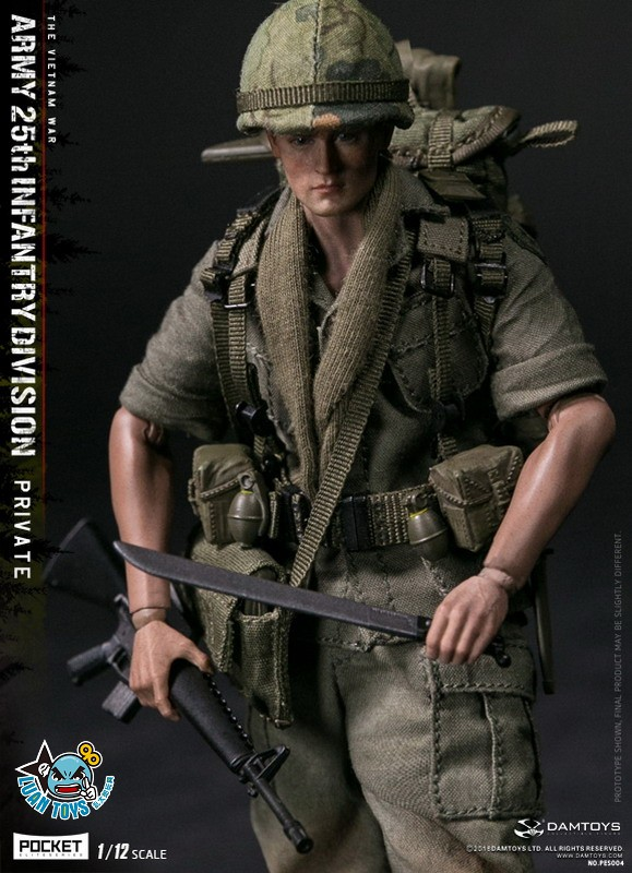 DAMTOYS PES004 US ARMY 25th INFANTRY DIVISION 越戰美國陸軍第25步兵師-01