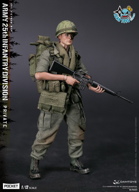 DAMTOYS PES004 US ARMY 25th INFANTRY DIVISION 越戰美國陸軍第25步兵師-02