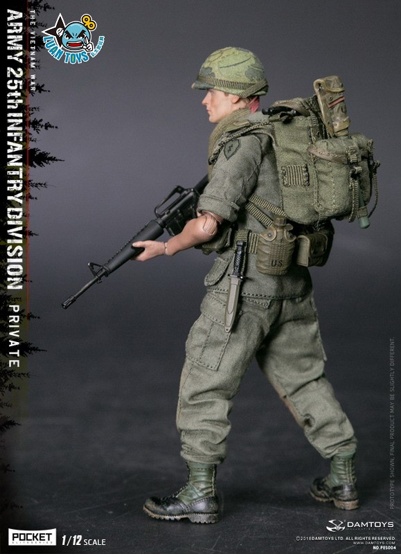 DAMTOYS PES004 US ARMY 25th INFANTRY DIVISION 越戰美國陸軍第25步兵師-03