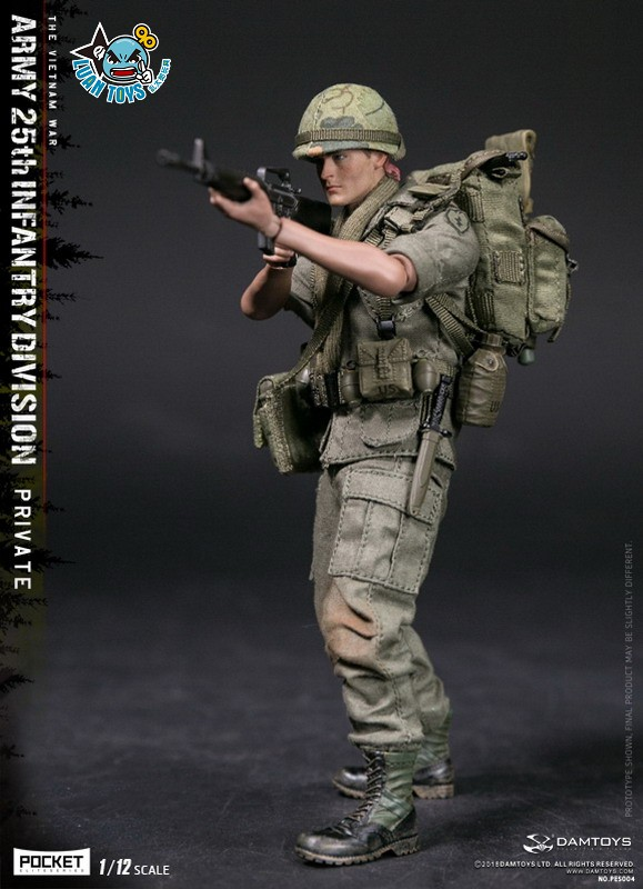 DAMTOYS PES004 US ARMY 25th INFANTRY DIVISION 越戰美國陸軍第25步兵師-04