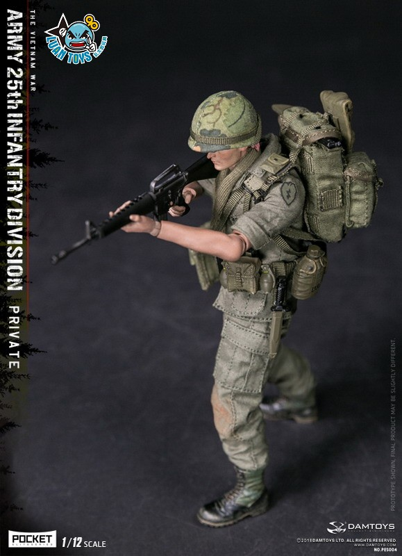 DAMTOYS PES004 US ARMY 25th INFANTRY DIVISION 越戰美國陸軍第25步兵師-05