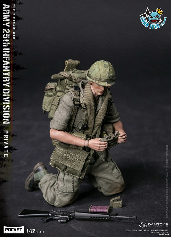 DAMTOYS PES004 US ARMY 25th INFANTRY DIVISION 越戰美國陸軍第25步兵師-06