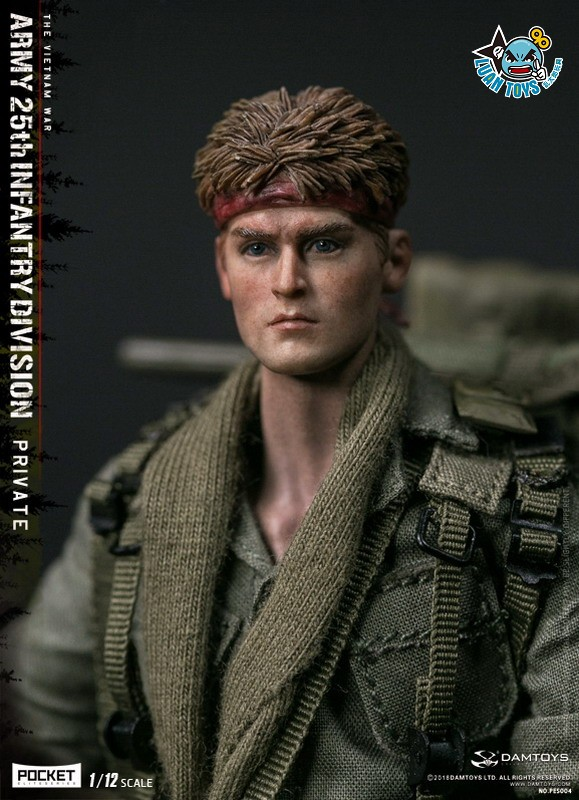 DAMTOYS PES004 US ARMY 25th INFANTRY DIVISION 越戰美國陸軍第25步兵師-07