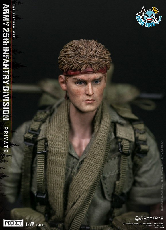 DAMTOYS PES004 US ARMY 25th INFANTRY DIVISION 越戰美國陸軍第25步兵師-08