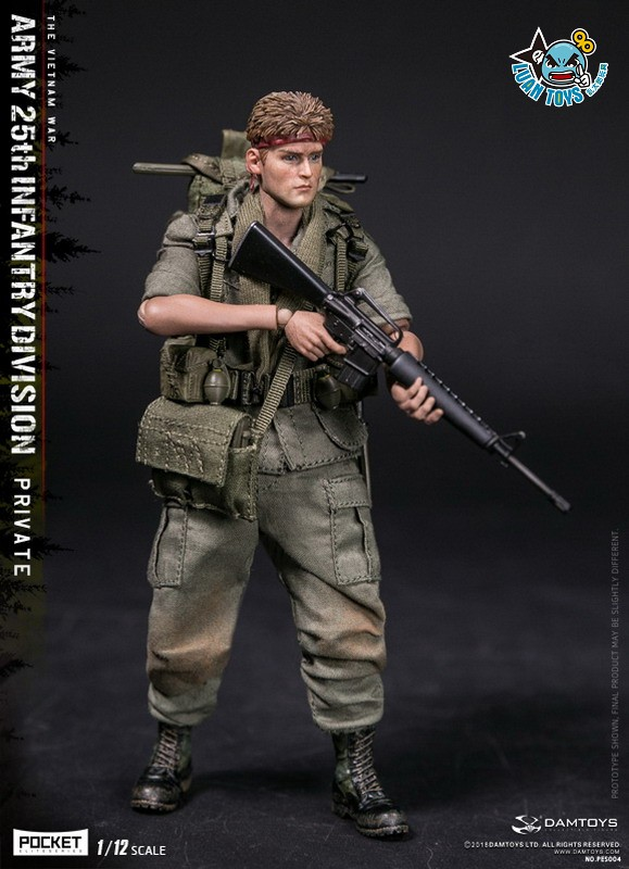 DAMTOYS PES004 US ARMY 25th INFANTRY DIVISION 越戰美國陸軍第25步兵師-09
