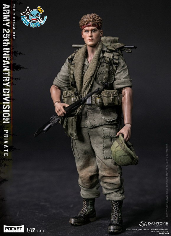 DAMTOYS PES004 US ARMY 25th INFANTRY DIVISION 越戰美國陸軍第25步兵師-10