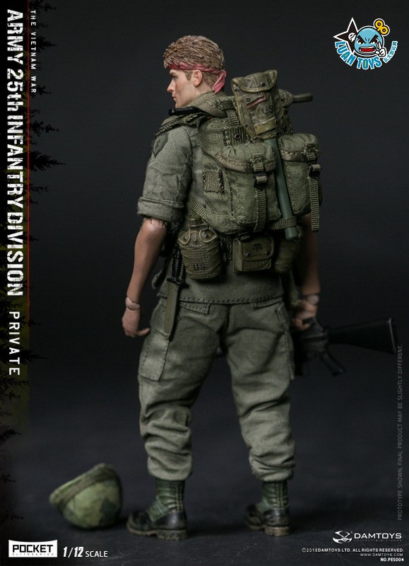DAMTOYS PES004 US ARMY 25th INFANTRY DIVISION 越戰美國陸軍第25步兵師-11