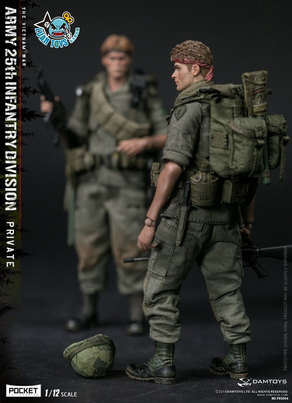 DAMTOYS PES004 US ARMY 25th INFANTRY DIVISION 越戰美國陸軍第25步兵師-12
