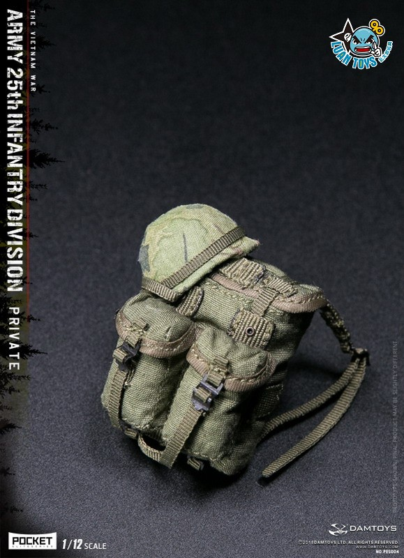 DAMTOYS PES004 US ARMY 25th INFANTRY DIVISION 越戰美國陸軍第25步兵師-13