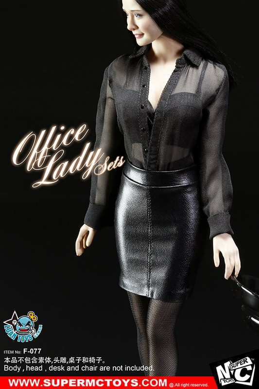 SUPERMCTOYS F-077 OFFICE LADY SET OL服裝配件組-04
