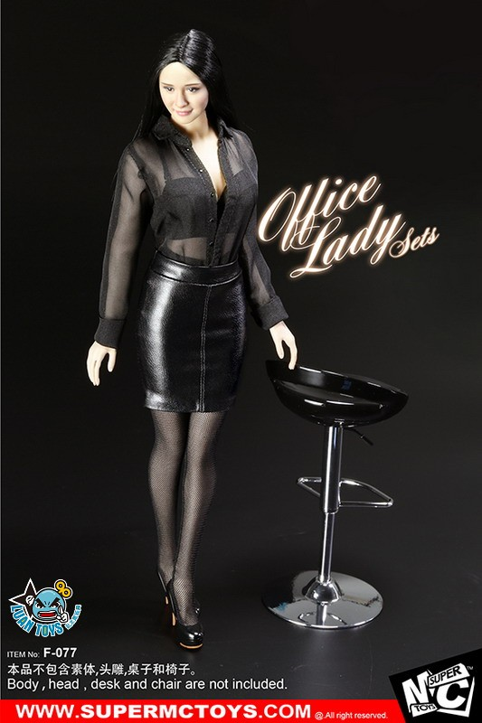 SUPERMCTOYS F-077 OFFICE LADY SET OL服裝配件組-07