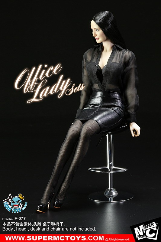 SUPERMCTOYS F-077 OFFICE LADY SET OL服裝配件組-09