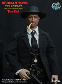 REDMAN TOYS RM034 THE GOOD,THE BAD AND THE UGLY 黃金三鏢客 - THE BAD 壞人、ANGEL EYES 天使眼(LEE VAN CLEEF 李范克里夫飾演)-01