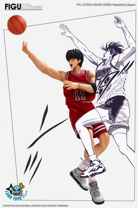 SOMEBODY Toys SD02 SLAM DUNK 灌籃高手 湘北高中 – RUKAWA 流川楓-02