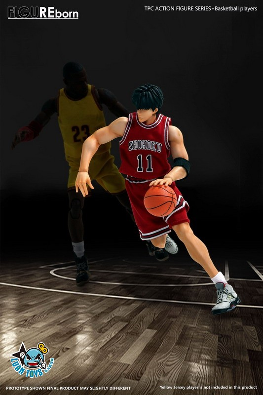 SOMEBODY Toys SD02 SLAM DUNK 灌籃高手 湘北高中 – RUKAWA 流川楓-03