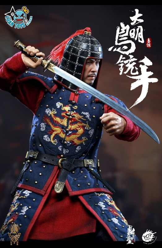 鼎聖模玩 & POPTOYS DS002 MING DYNASTY 大明王朝 - MUSKETEER 鳥銃手(A款藍色)-06