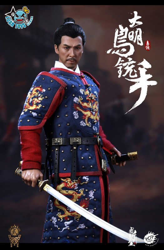 鼎聖模玩 & POPTOYS DS002 MING DYNASTY 大明王朝 - MUSKETEER 鳥銃手(A款藍色)-08