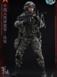 FLAGSET FS-73019 CHINESE PEOPLE'S LIBERATION ARMY SPECIAL FORCES ARMY MACHINE GUNNER 中國人民解放軍陸軍機槍兵-04