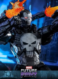 HOT TOYS MARVEL FUTURE FIGHT 未來之戰 - THE PUNISHER 懲罰者(WAR MACHINE ARMOR 戰爭機器裝Ver.)-04