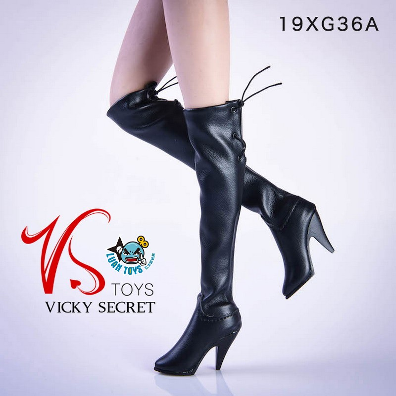 VSTOYS 19XG36A FASHION OVER THE KNEE BOOTS 時尚過膝長靴(黑色)-01