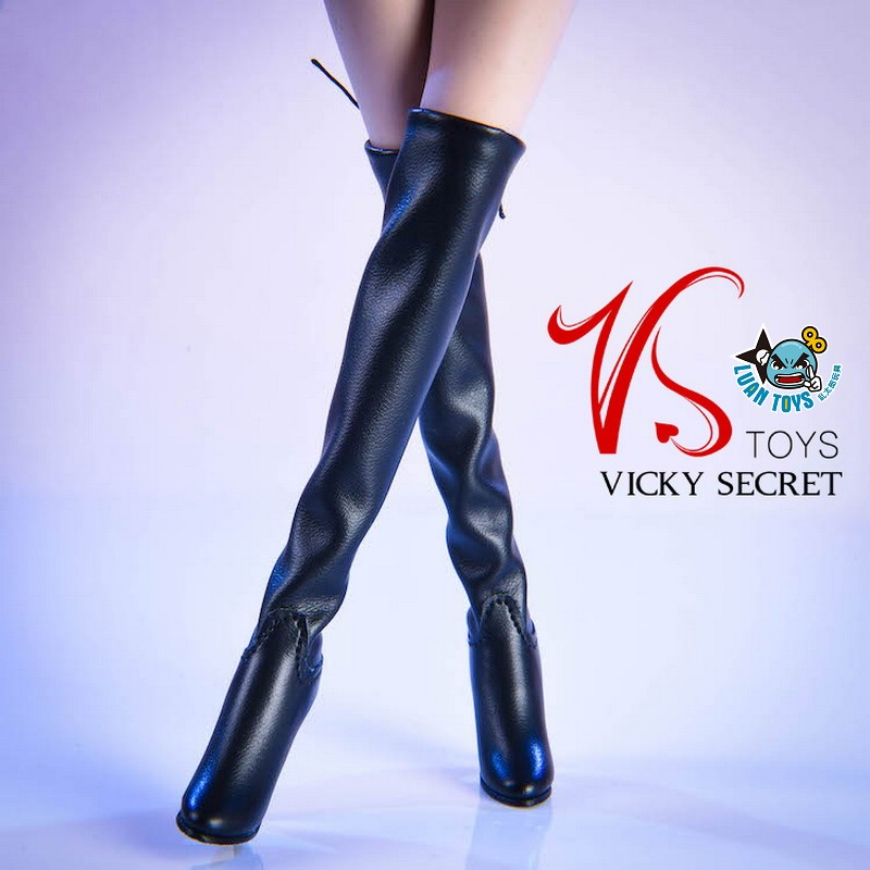 VSTOYS 19XG36A FASHION OVER THE KNEE BOOTS 時尚過膝長靴(黑色)-02