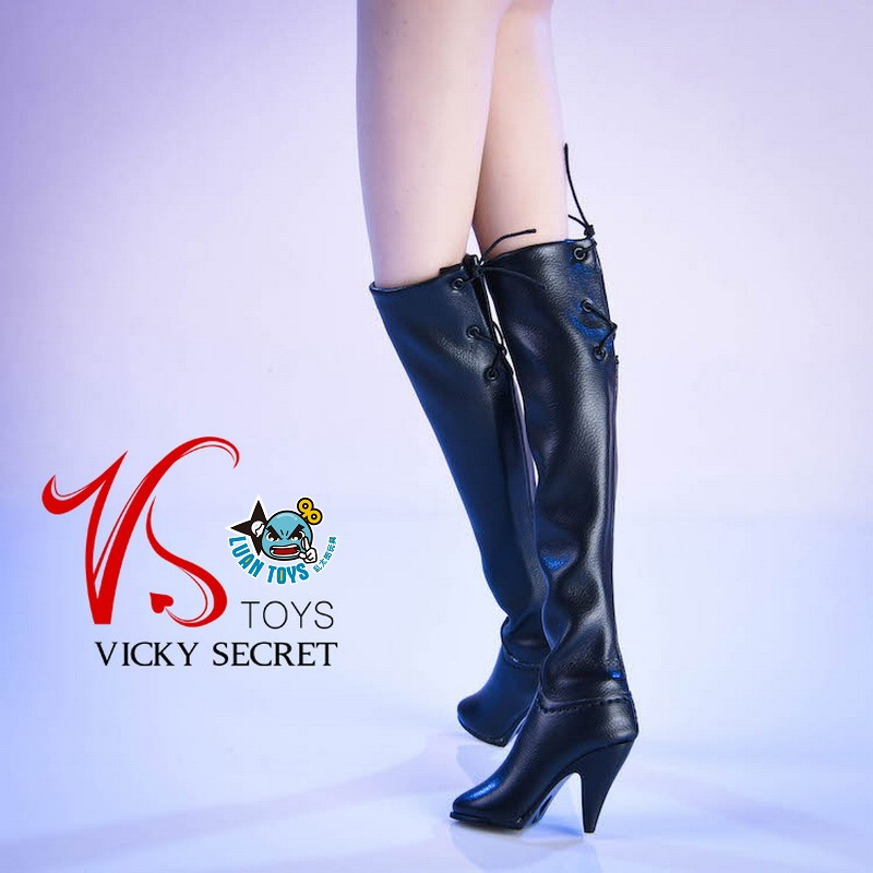 VSTOYS 19XG36A FASHION OVER THE KNEE BOOTS 時尚過膝長靴(黑色)-04