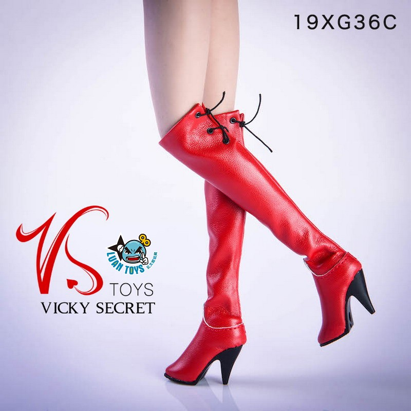 VSTOYS 19XG36C FASHION OVER THE KNEE BOOTS 時尚過膝長靴(紅色)-01
