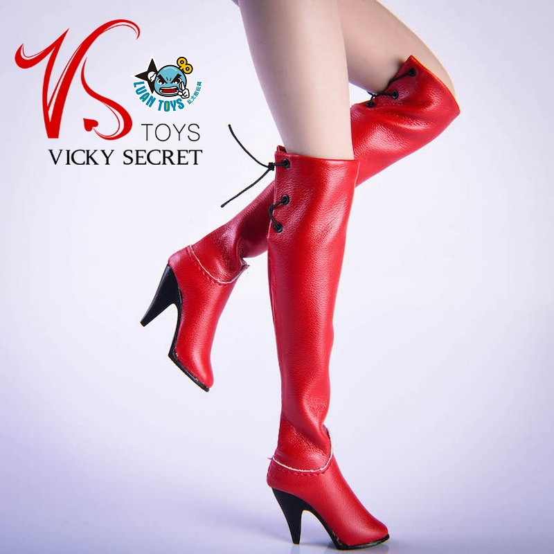 VSTOYS 19XG36C FASHION OVER THE KNEE BOOTS 時尚過膝長靴(紅色)-02