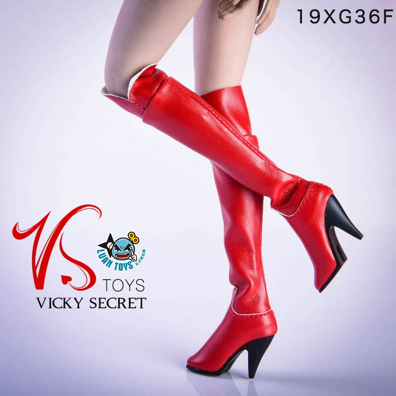 VSTOYS 19XG36F FASHION OVER THE KNEE BOOTS 時尚過膝長靴(紅色)-01