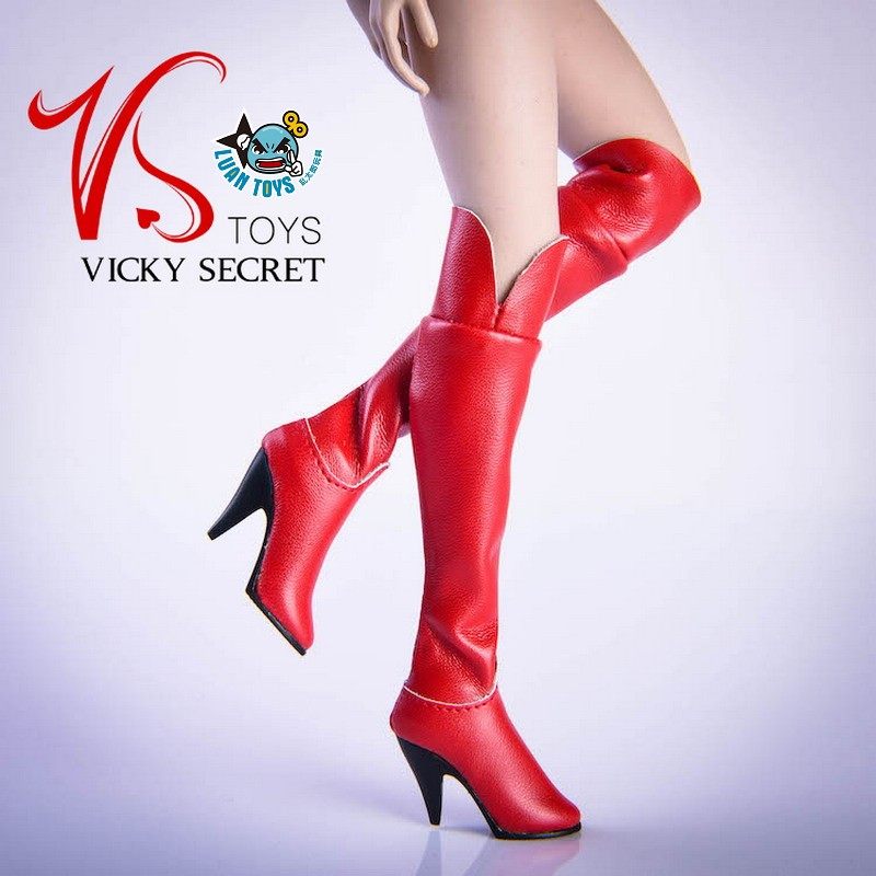 VSTOYS 19XG36F FASHION OVER THE KNEE BOOTS 時尚過膝長靴(紅色)-02