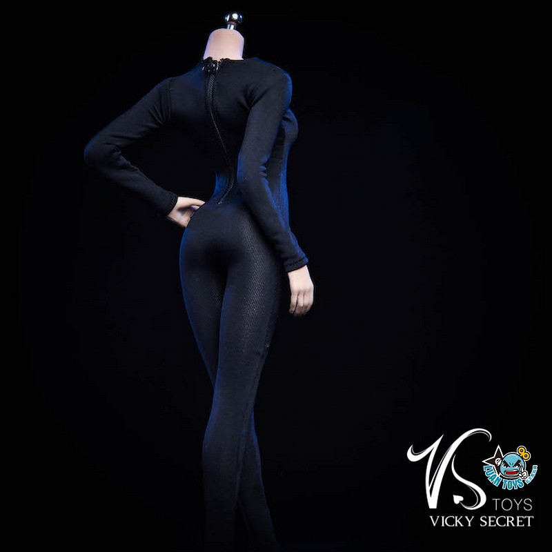 VSTOYS 19XG37A LONG SLEEVED BODYSUIT 長袖連身緊身衣(A款黑色)-02